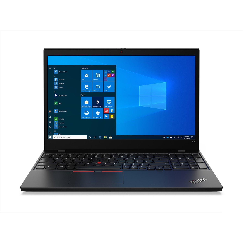 """Lenovo ThinkPad L15 Gen1 20U3S0GN00 39.6 cm (15.6"""") Notebook - HD - 1366 x 768 - Intel Core i5 (10th Gen) i5-10210U Quad-core (4 Core) 1.60 GHz - 16 GB RAM - 256 GB SSD - Black"""