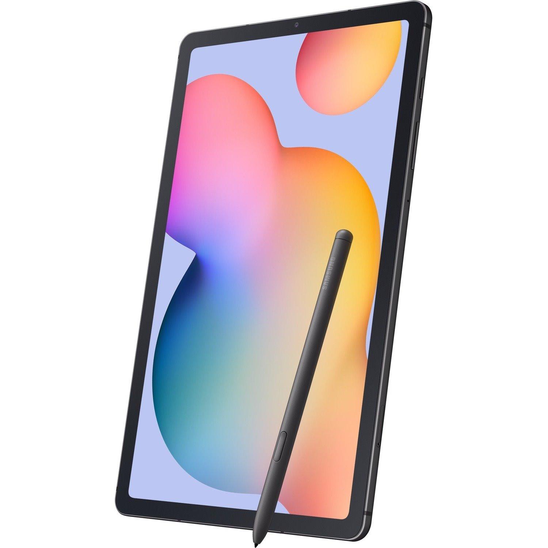 "Samsung Galaxy Tab S6 Lite SM-P610 Tablet - 26.4 cm (10.4"") - ARM Cortex A73 Quad-core (4 Core) 2.30 GHz - 4 GB RAM - 128 GB Storage - Android 10 - Oxford Gray"