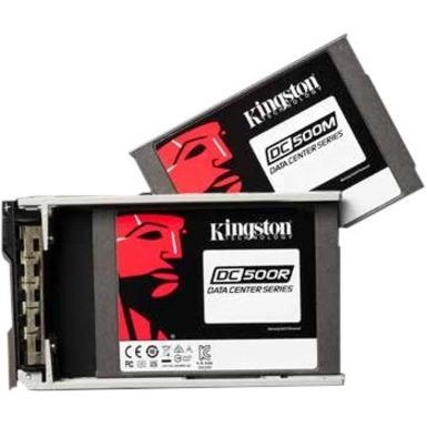 "Kingston DC500 DC500R 7.68 TB Solid State Drive - 2.5"" Internal - SATA (SATA/600) - Read Intensive"