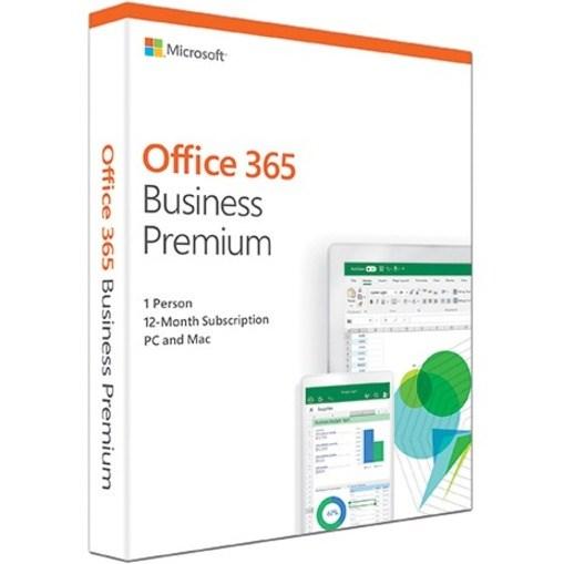 Microsoft 365 Business Standard 32/64-bit 1 Year Subscription - Box Pack - 1 Year