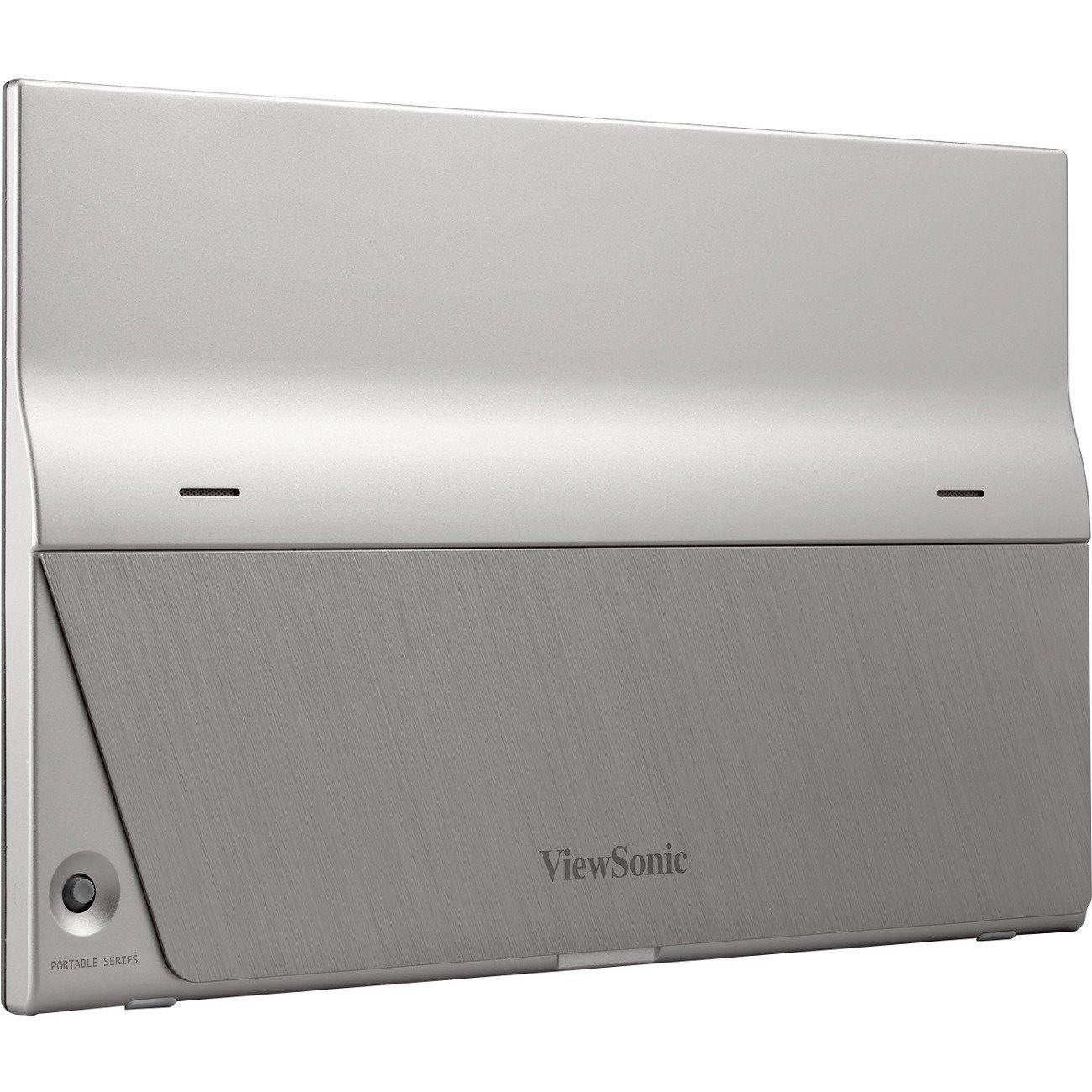 "Viewsonic TD1655 39.6 cm (15.6"") LCD Touchscreen Monitor - 16:9 - 6.50 ms GTG (OD)"