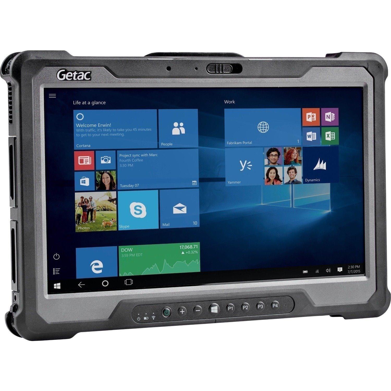 """Getac A140 G2 Rugged Tablet - 14"""" Full HD - Core i5 10th Gen i5-10210U Quad-core (4 Core) 1.60 GHz - 8 GB RAM - 256 GB SSD - Windows 10 Pro 64-bit - Black, Gray"""