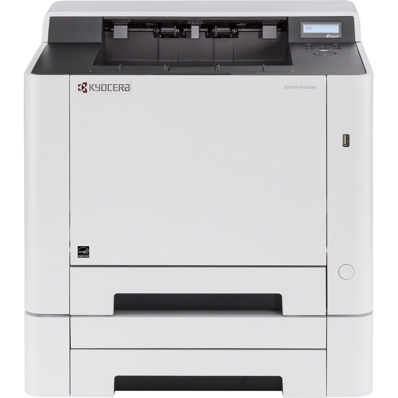 Kyocera Ecosys P5021cdn Desktop Laser Printer - Colour