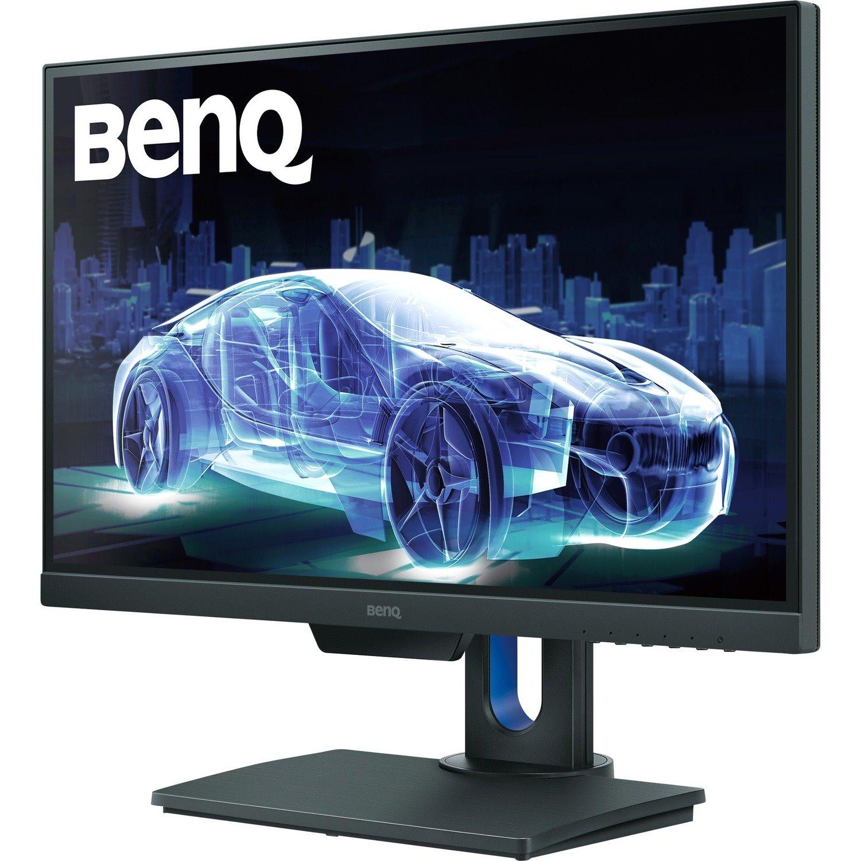 """BenQ PD2500Q 63.5 cm (25"""") WQHD LED LCD Monitor - 16:9 - Grey"""