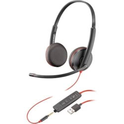 Plantronics Blackwire C3225 Wired Over-the-head Stereo Headset