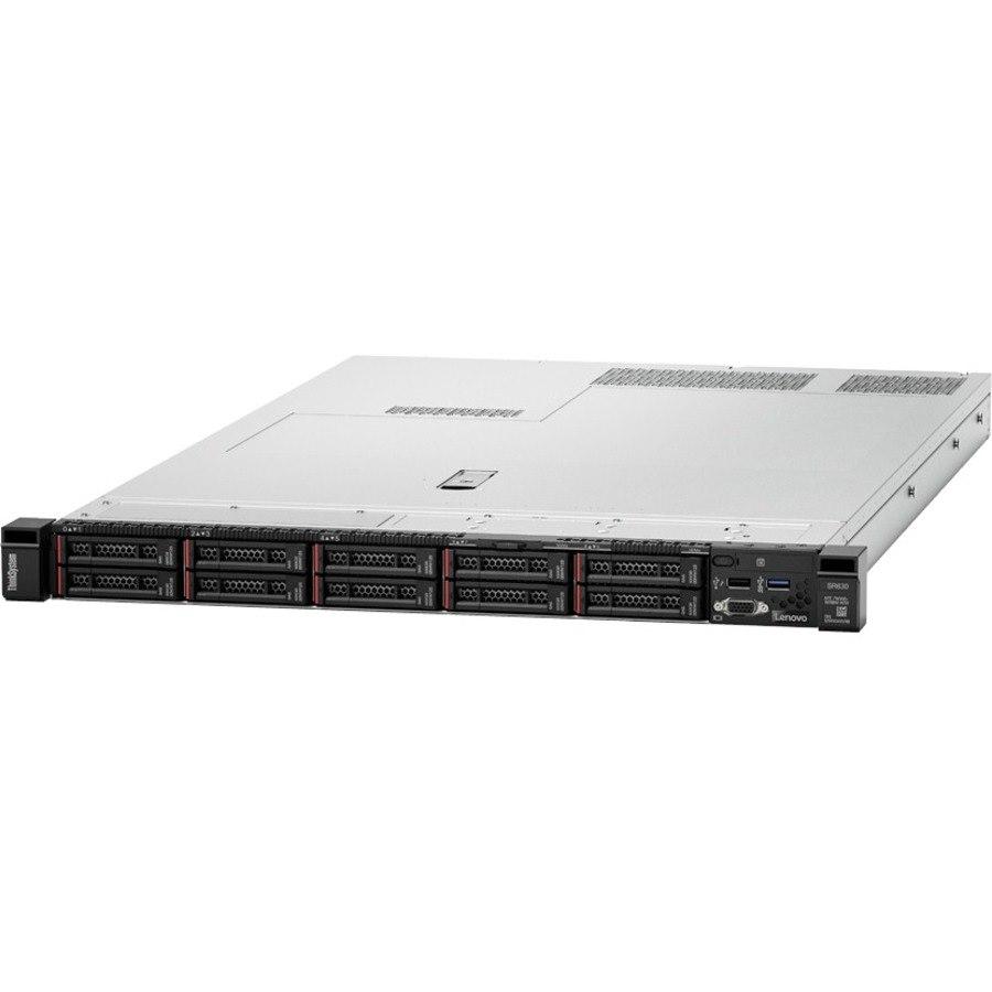 Lenovo ThinkSystem SR630 7X02T0AE00 1U Rack Server - Intel - 12Gb/s SAS Controller