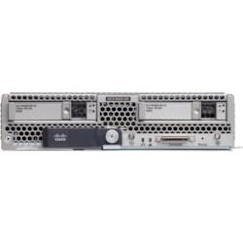 Cisco B200 M5 Blade Server - 2 x Intel Xeon Gold 5120 2.20 GHz - 96 GB RAM - Serial ATA, 12Gb/s SAS Controller