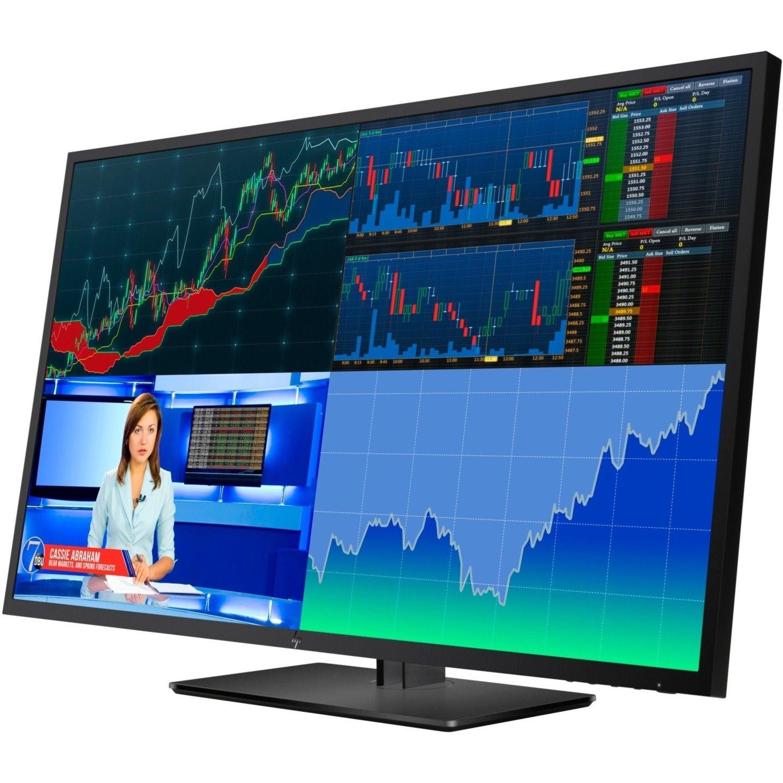 "HP Business Z43 108 cm (42.5"") 4K UHD LED LCD Monitor - 16:9 - Black"