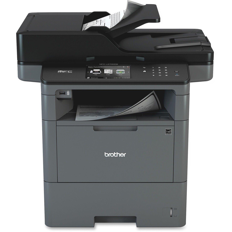 Brother MFC MFC-L6700DW Wireless Laser Multifunction Printer - Monochrome