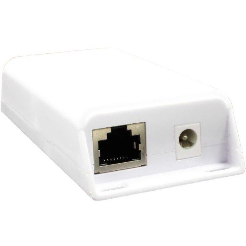 VisionTek PoE Gigabit Inline Splitter/Converter With 24 Volt 25 Watt PoE or DC output