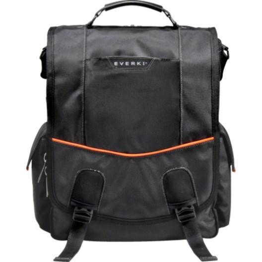 """Everki Urbanite EKS620 Carrying Case (Messenger) for 35.8 cm (14.1"""") Notebook - Black"""