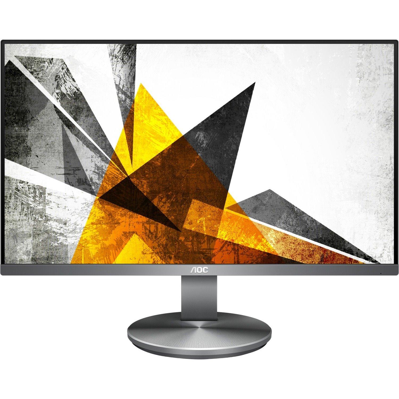"AOC U2790VQ 68.6 cm (27"") 4K UHD WLED LCD Monitor - 16:9 - Black"