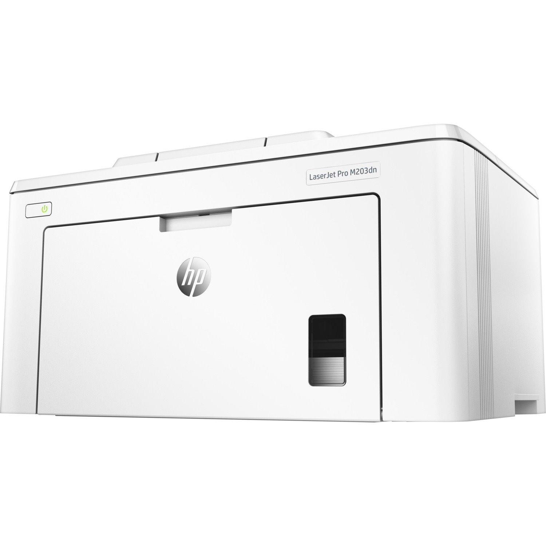 HP LaserJet Pro M203 M203dn Desktop Laser Printer - Monochrome