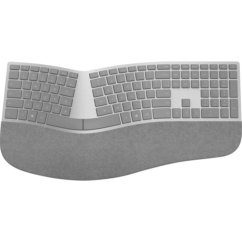 Microsoft Surface Ergonomic Bluetooth Keyboard (English Gray)