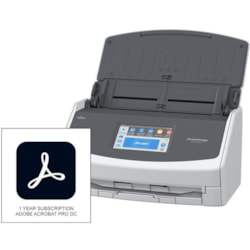 Fujitsu ScanSnap IX1500 Deluxe Scanner with Adobe Acrobat Pro DC 30 ppm (Mono) - 30 ppm (Color) - Duplex Scanning - USB
