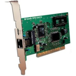 D-Link Express EtherNetwork DFE-530TX Fast Ethernet Card for PC