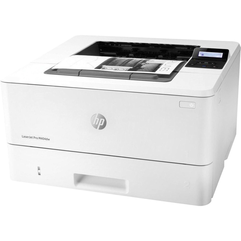 HP LaserJet Pro M404 M404dw Desktop Laser Printer - Monochrome