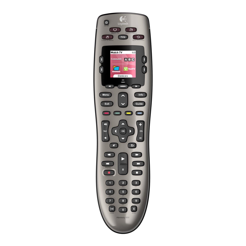 Logitech Harmony 650 Wireless Universal Remote Control