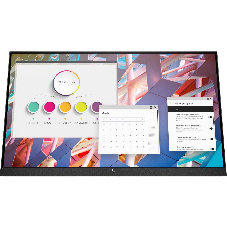 "HP E24 G4 60.5 cm (23.8"") Full HD Edge LED LCD Monitor - 16:9 - Black"