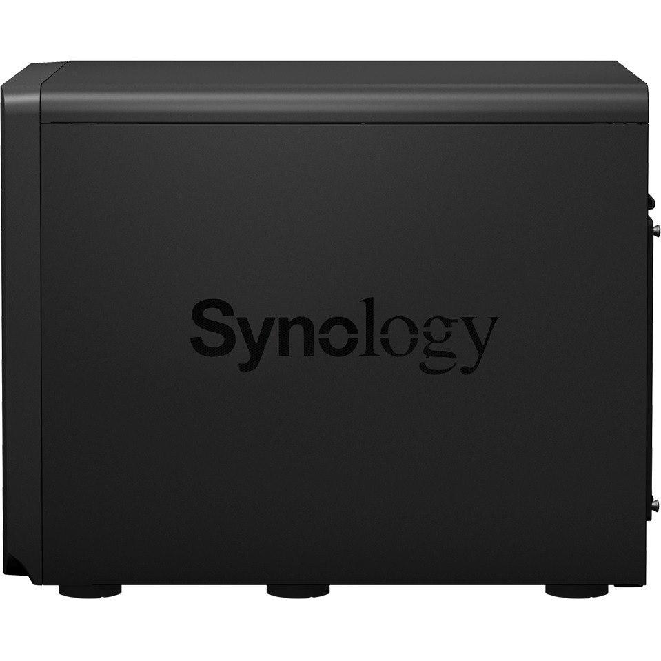 Synology DiskStation DS3617xs 12 x Total Bays SAN/NAS Storage System - Intel Xeon Quad-core (4 Core) 2.20 GHz - 16 GB RAM - DDR4 SDRAM Desktop