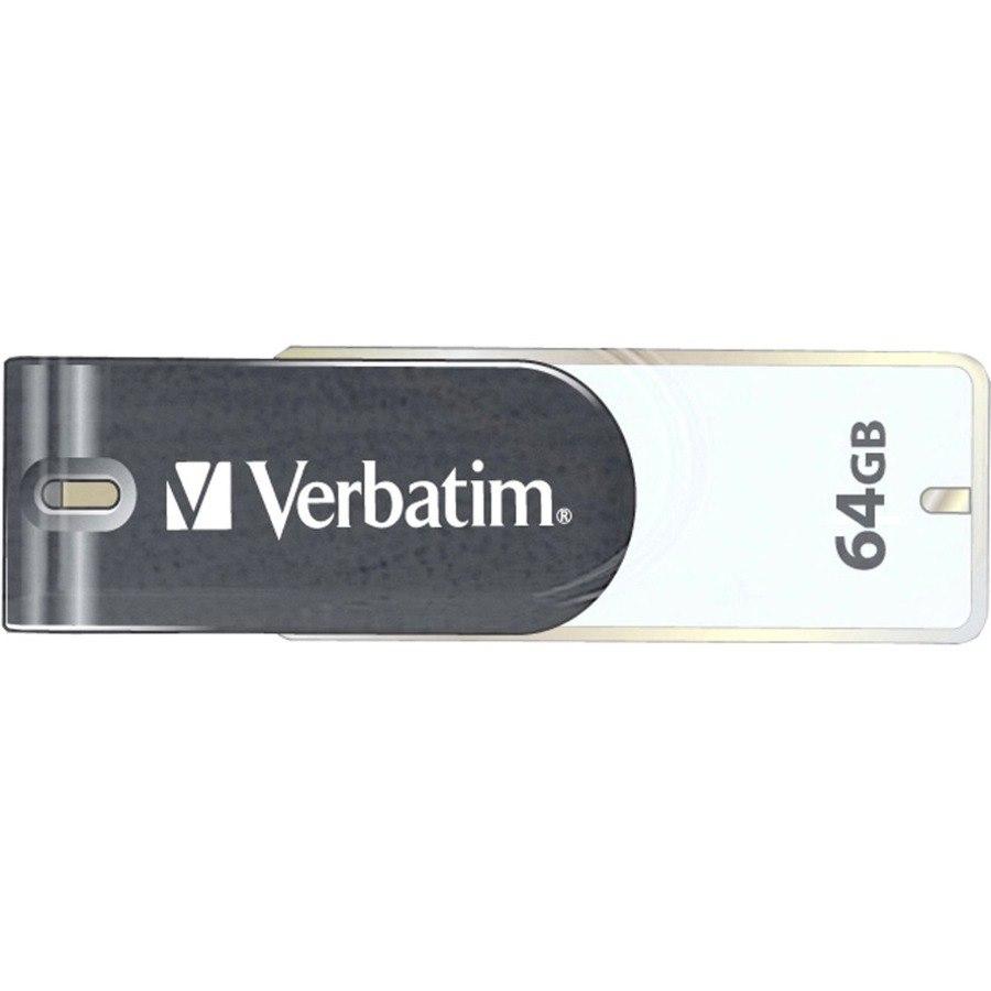 Verbatim Store 'n' Go 64 GB USB 2.0 Flash Drive - Grey