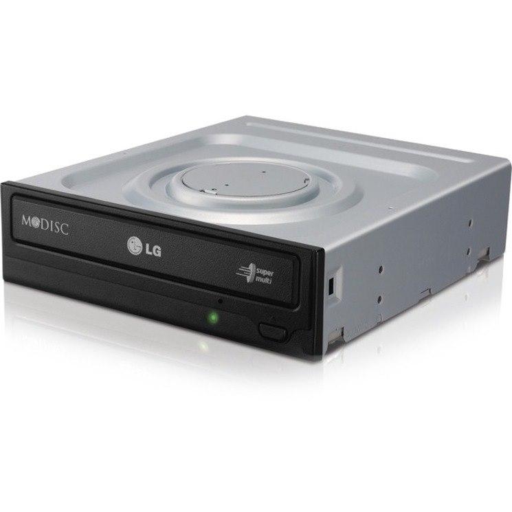LG GH24NSC0 DVD-Writer - 1 x Retail Pack - Black