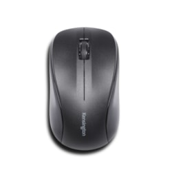 Kensington Mouse for Life Mouse - Radio Frequency - USB - Optical - 3 Button(s) - Black