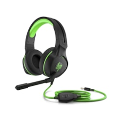 HP Pavilion 400 Wired Over-the-head Stereo Headset - Green