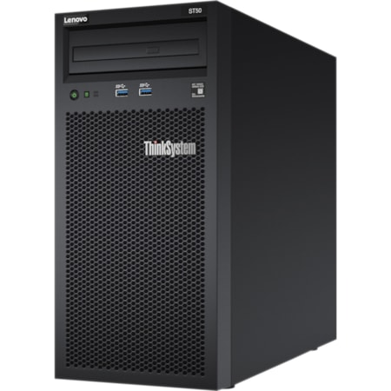 Lenovo ThinkSystem ST50 7Y49A01PAU 4U Tower Server - 1 x Intel Xeon E-2144G 3.60 GHz - 8 GB RAM - Serial ATA/600 Controller