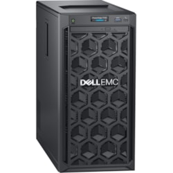 Dell EMC PowerEdge T140 Mini-tower Server - 1 x Intel Xeon E-2224 3.40 GHz - 8 GB RAM - 1 TB HDD - Serial ATA, 12Gb/s SAS Controller