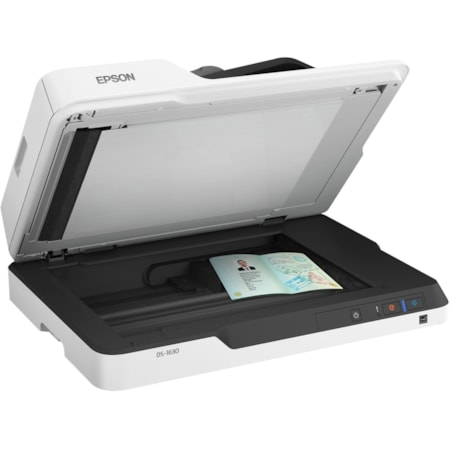 Epson WorkForce DS-1630 Sheetfed/Flatbed Scanner - 1200 dpi Optical