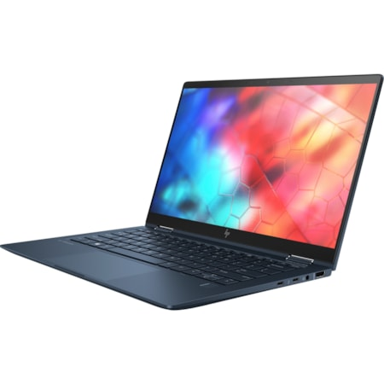 "HP Elite Dragonfly LTE Advanced, HSPA+, UMTS, DC-HSPA+ 33.8 cm (13.3"") Touchscreen 2 in 1 Notebook - 1920 x 1080 - Intel Core i5 (8th Gen) i5-8365U Quad-core (4 Core) 1.60 GHz - 16 GB RAM - 256 GB SSD - Iridescent Blue"