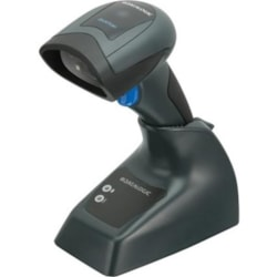 Datalogic QuickScan I QBT2131 Retail, Inventory, Industrial Handheld Barcode Scanner Kit - Wireless Connectivity - Black - USB Cable Included