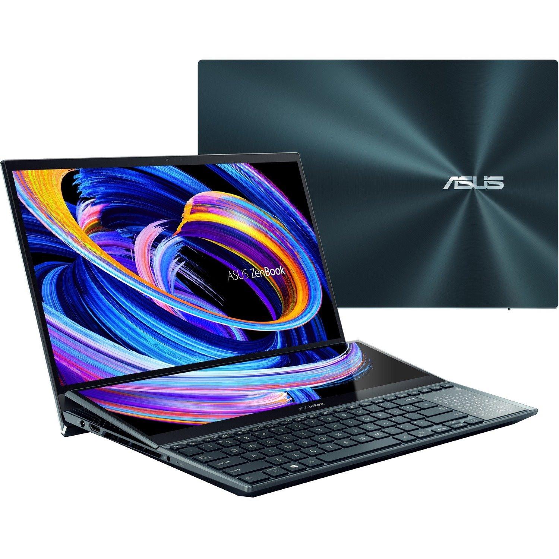 "Asus ZenBook Pro Duo 15 UX582 UX582LR-H2014R 39.6 cm (15.6"") Touchscreen Rugged Notebook - 4K UHD - 3840 x 2160 - Intel Core i9 10th Gen i9-10980HK Octa-core (8 Core) 2.40 GHz - 32 GB RAM - 1 TB SSD - Celestial Blue"