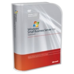 HPE Windows Small Business Server 2008 Standard Edition Reseller Option Kit - License and Media - 1 Server, 5 CAL - Standard