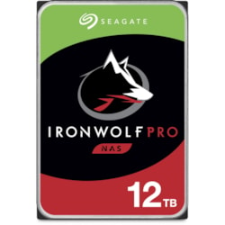 "Seagate IronWolf Pro ST12000NE0008 12 TB Hard Drive - 3.5"" Internal - SATA (SATA/600) - Conventional Magnetic Recording (CMR) Method"