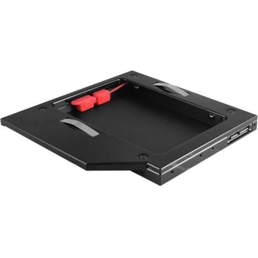 Vantec MRK-HC127A-BK Drive Bay Adapter - Serial ATA/600 Host Interface Internal - Black