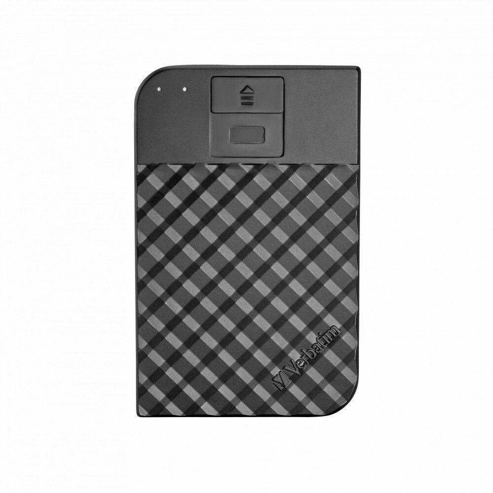 Verbatim Store 'n' Go 2 TB Portable Hard Drive - External - SATA (SATA/600) - Black