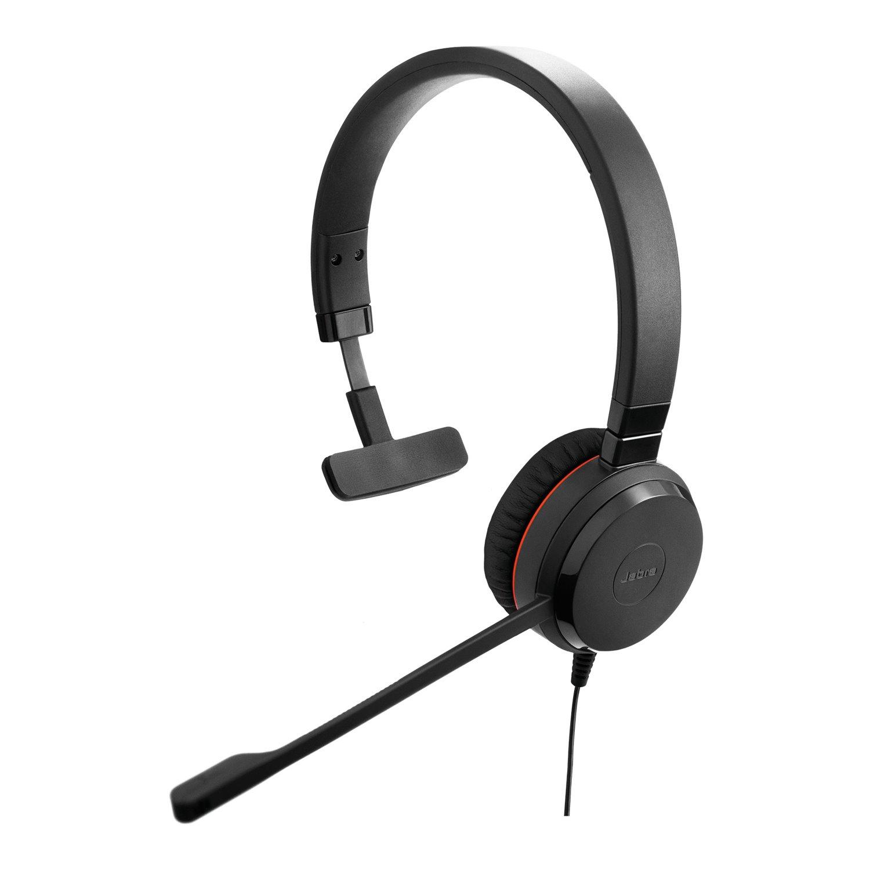 Jabra EVOLVE 30 II Wired Over-the-head Mono Headset
