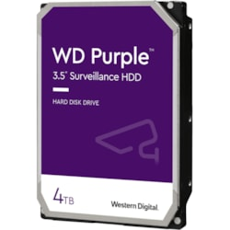 """WD Purple WD40PURZ 4 TB Hard Drive - 3.5"""" Internal - SATA (SATA/600)"""
