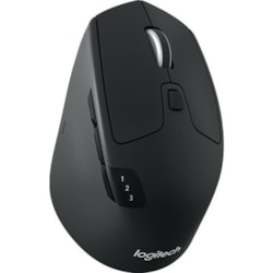 Logitech M720 Mouse - Bluetooth/Radio Frequency - USB - Optical - 8 Button(s)