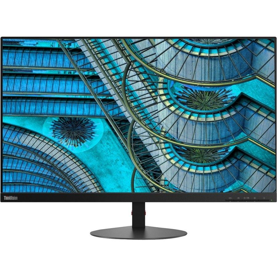 """Lenovo ThinkVision S27i-10 68.6 cm (27"""") Full HD WLED LCD Monitor - 16:9 - Raven Black"""