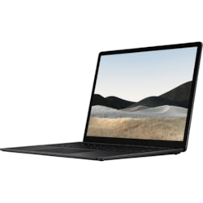 "Microsoft Surface Laptop 4 13.5"" Touchscreen Notebook - 2256 x 1504 - Intel Core i7 11th Gen i7-1185G7 Quad-core (4 Core) - 16 GB RAM - 512 GB SSD - Matte Black"