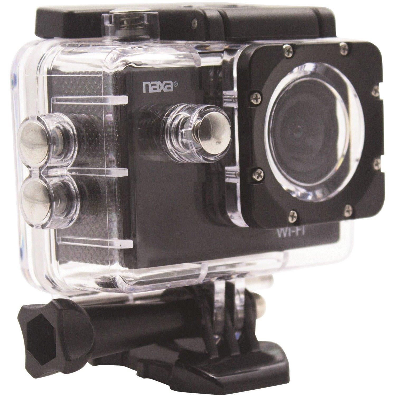 "Naxa NDC-407 Digital Camcorder - 2"" LCD Screen - CMOS - Full HD - Shiny Black"