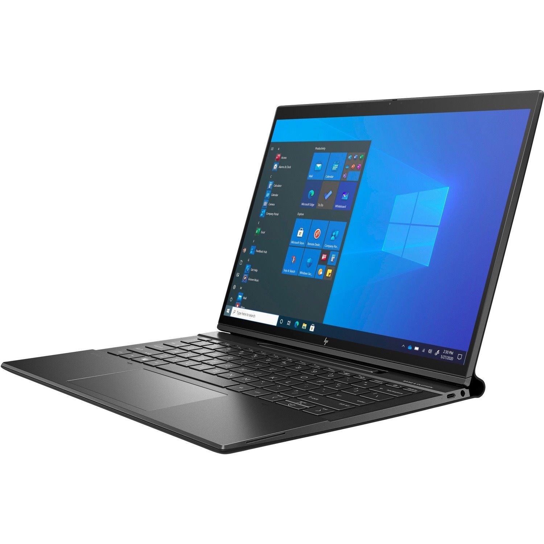"HP Elite Folio 34.3 cm (13.5"") Touchscreen Rugged 2 in 1 Notebook - WUXGA+ - 1920 x 1280 - Qualcomm Snapdragon 8cx (2nd Gen) Octa-core (8 Core) - 16 GB RAM - 512 GB SSD"