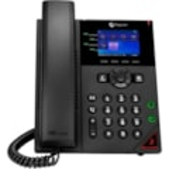 Poly 250 IP Phone - Corded - Corded - Wall Mountable, Desktop