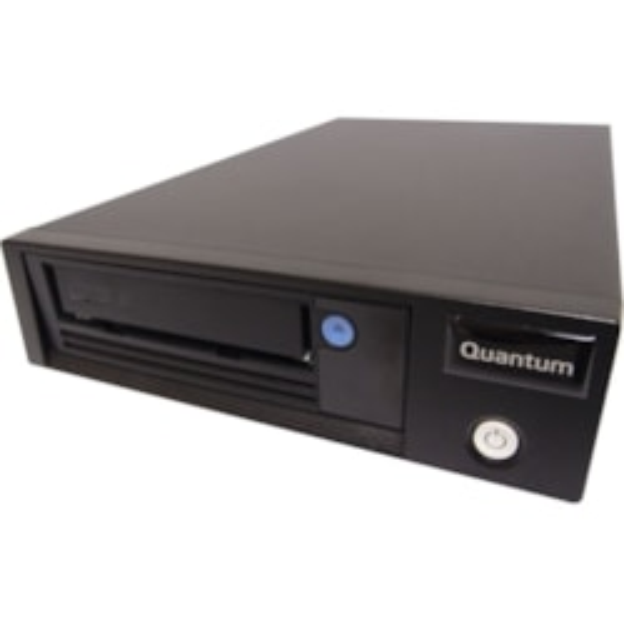 Quantum LTO-7 Tape Drive - 6 TB (Native)/15 TB (Compressed) - Black