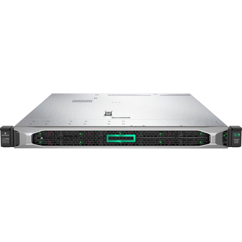 HPE ProLiant DL360 G10 1U Rack Server - 1 x Intel Xeon Gold 6242 2.80 GHz - 32 GB RAM - Serial ATA/600, 12Gb/s SAS Controller