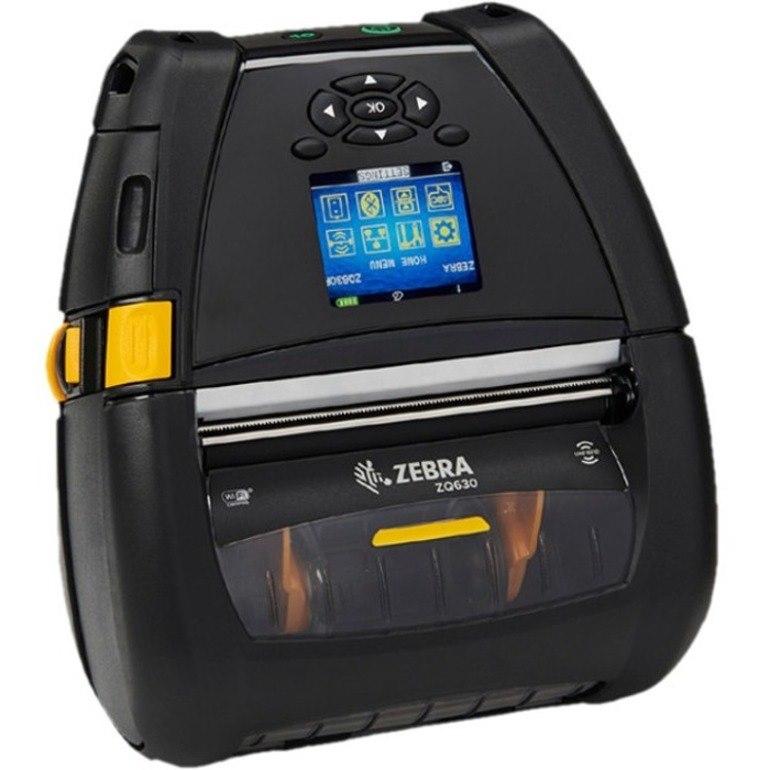 Zebra ZQ630 Mobile Direct Thermal Printer - Monochrome - Handheld - Label Print - Bluetooth - Yes