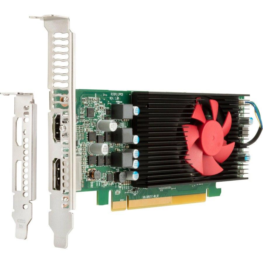 HP AMD Radeon RX 550 Graphic Card - 4 GB GDDR5 - Low-profile